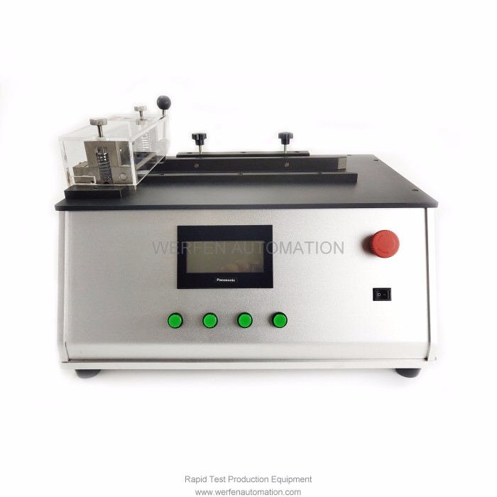 Rapid Test Strip Guillotine Cutter